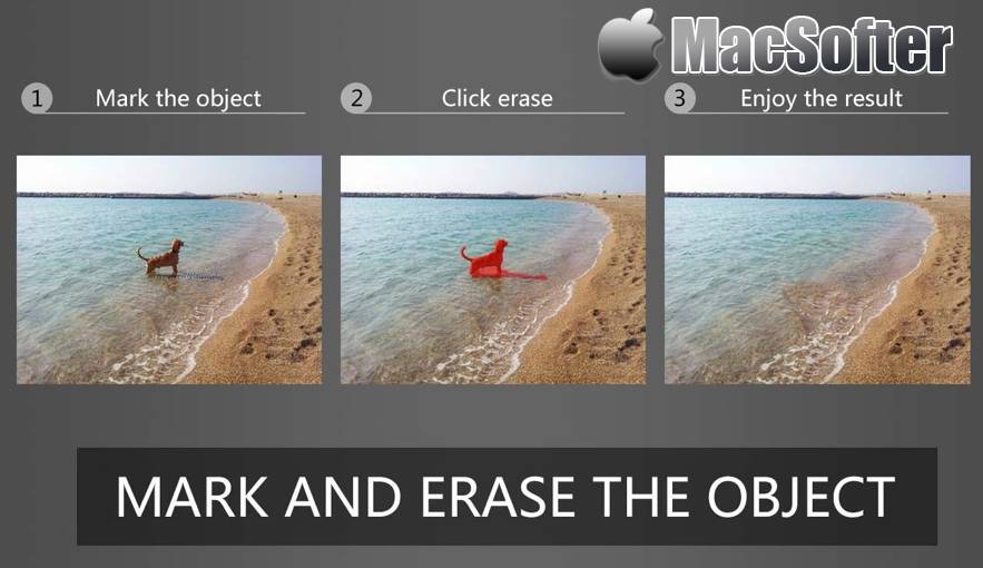 [Mac] PhotoEraser Inpaint : 去除图片上的多余人物及水印 Mac图像图形 第1张