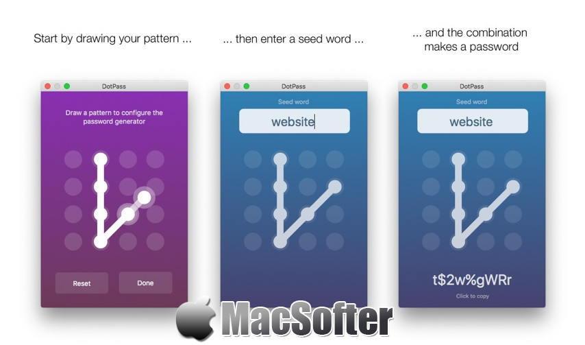 [Mac] DotPass Passwords : 好用的密码生成器 Mac辅助工具 第1张