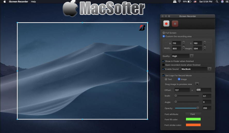 [Mac] iScreen Recorder :好用的屏幕录像软件