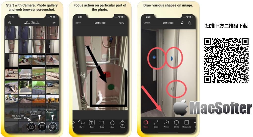 [iPhone/iPad限免] Snap Markup :方便的图片标注软件 iOS限免 第1张
