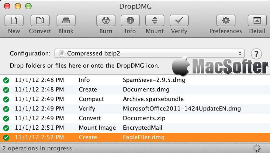 [Mac] DropDMG : dmg镜像制作软件 Mac辅助工具 第1张