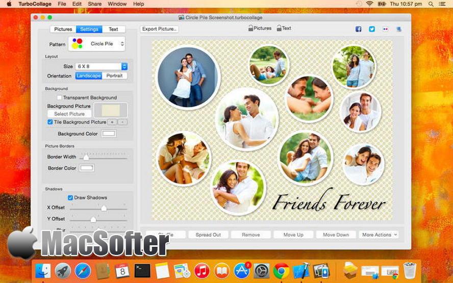 TurboCollage for Mac : Mac照片拼图软件 Mac图像图形 第1张