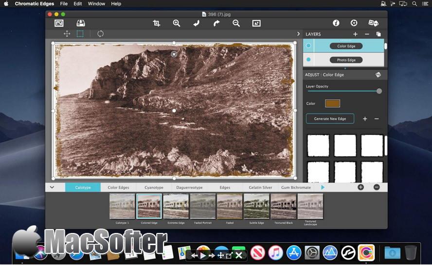 [Mac] JixiPix Chromatic Edges : 照片转艺术画特效处理软件 Mac图像图形 第1张