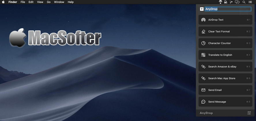 [Mac] AnyDrop : 多功能自动化处理工具 Mac生产力工具 第1张