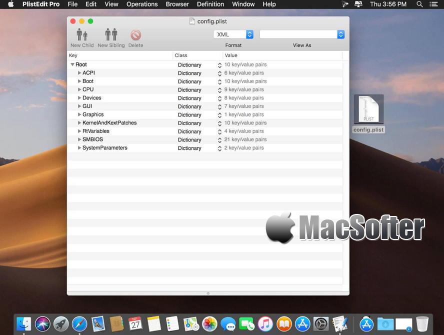 [Mac] PlistEdit Pro : Plist文档打开及编辑器 Mac开发工具 第1张