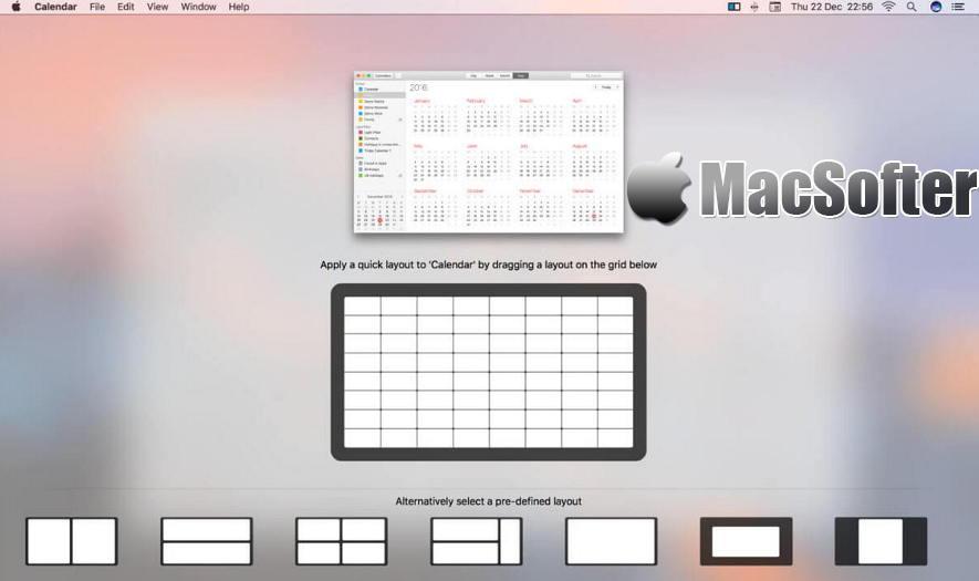 [Mac] Mosaic Pro : 高效的窗口排列管理工具 Mac生产力工具 第1张