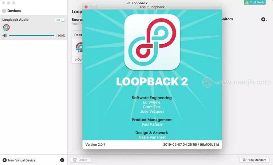 [Mac] Loopback : 虚拟音频器软件