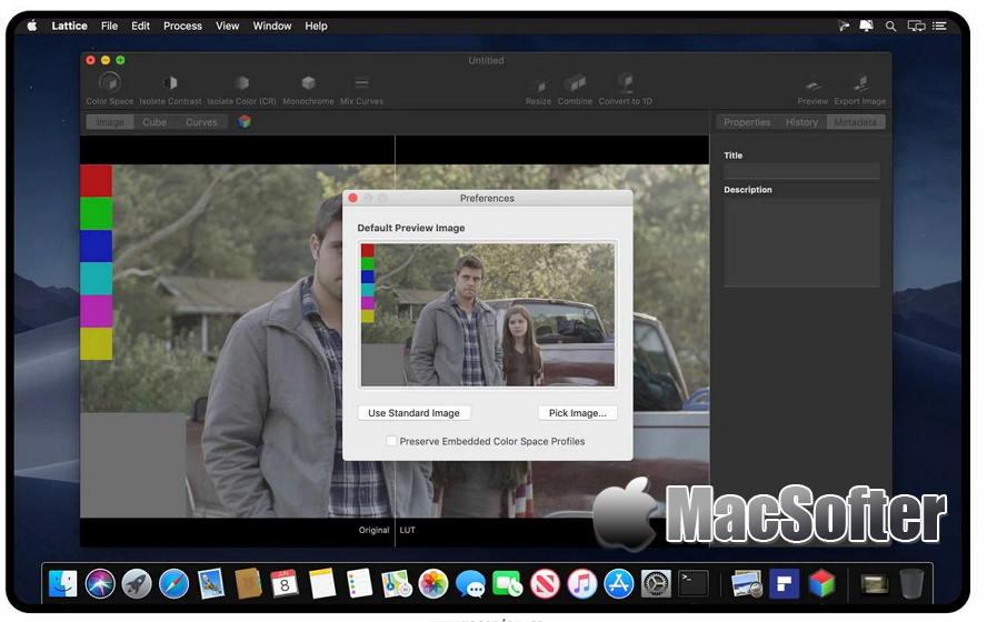 [Mac] Lattice : 颜色查找及转换工具