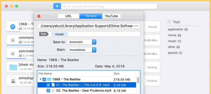 Neat Download Manager for Mac : Mac上好用的多线程下载工具 Mac网络工具 第1张