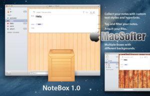 [Mac] Notebox : 支持iCloud同步备份的复古风笔记软件