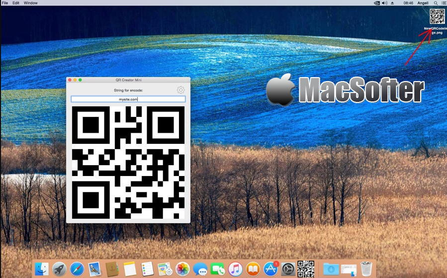 [Mac] QR Creator Mini :方便快速的二维码生成软件