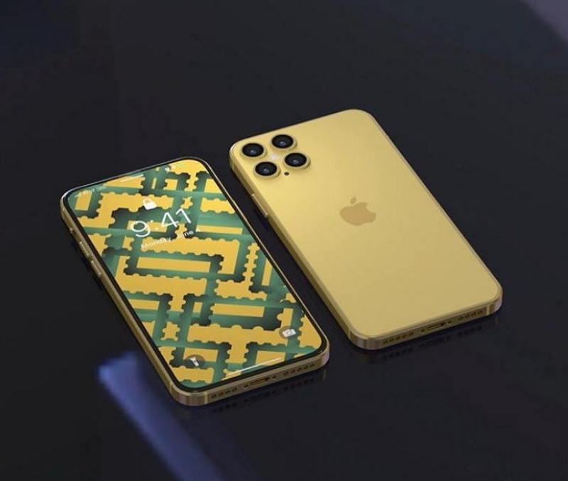 iPhone 12 Pro 概念设计欣赏 :金属中框+四摄 Mac软件 第2张