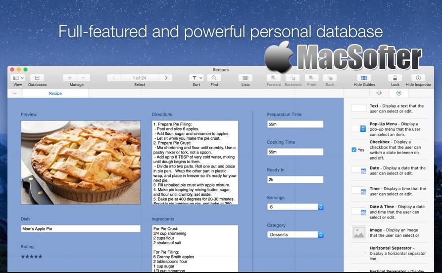 [Mac] Records :个人数据管理工具 Mac办公软件 第1张