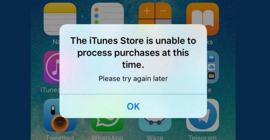 iPhone狂跳The iTunes Store is unable to process错误的解决方法 iOS教程 第1张