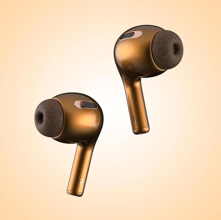 多种颜色入耳式AirPods 3概念渲染图欣赏