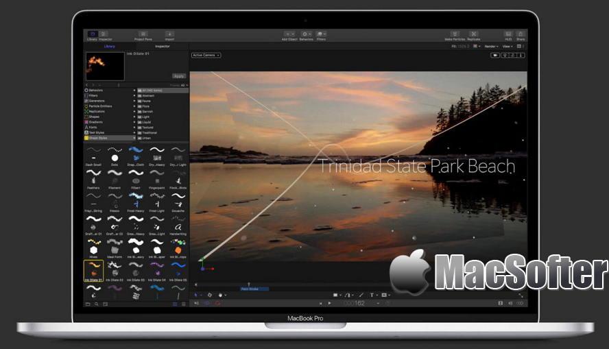 [Mac] Apple Motion : 动态图片编辑工具