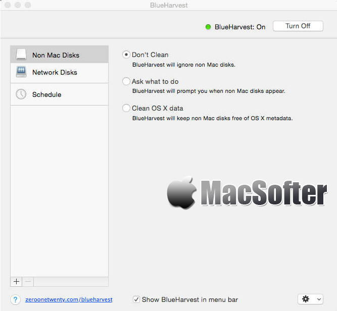 [Mac] BlueHarvest : DS_Store及_AppleDouble垃圾文件清理工具 Mac系统优化 第1张