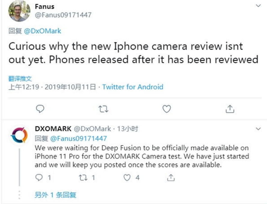DxOMark为何还没公布iPhone 11相机评测 :等Deep Fusion 苹果新闻 第1张