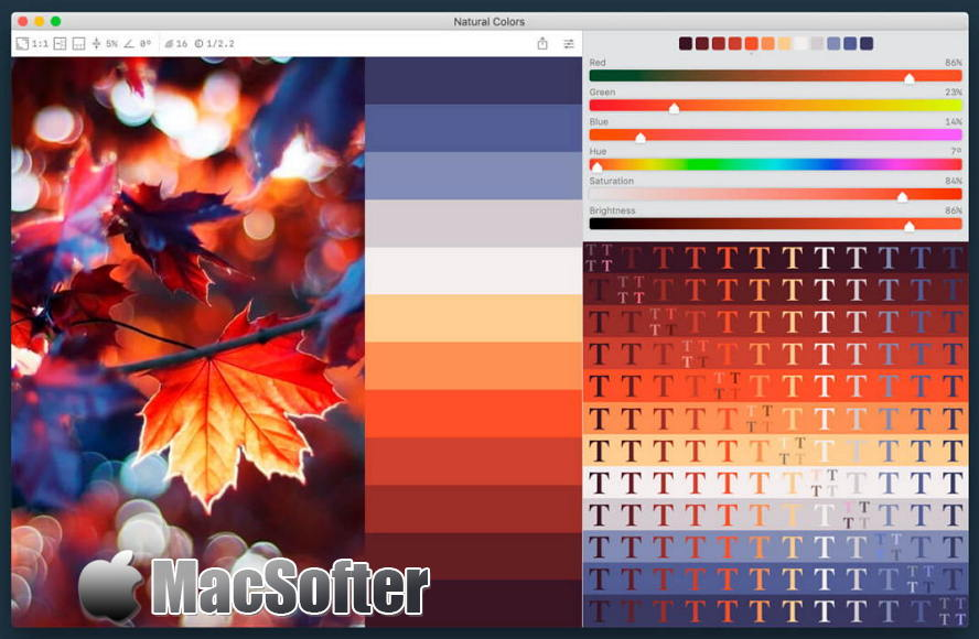 [Mac] Color Palette from Image Pro :可根据图片自动生成配色方案的调色软件