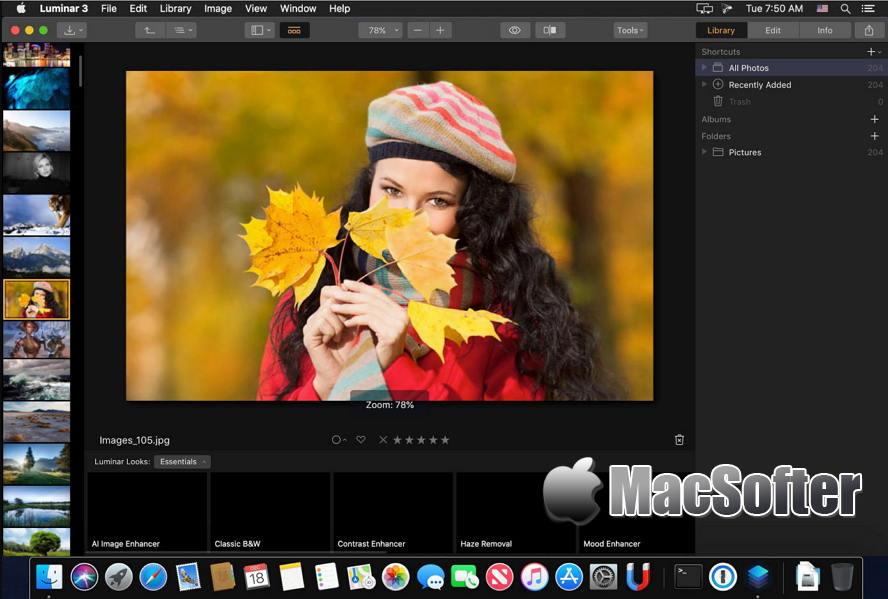 [Mac] Luminar :专业的图片编辑器 Mac图像图形 第1张