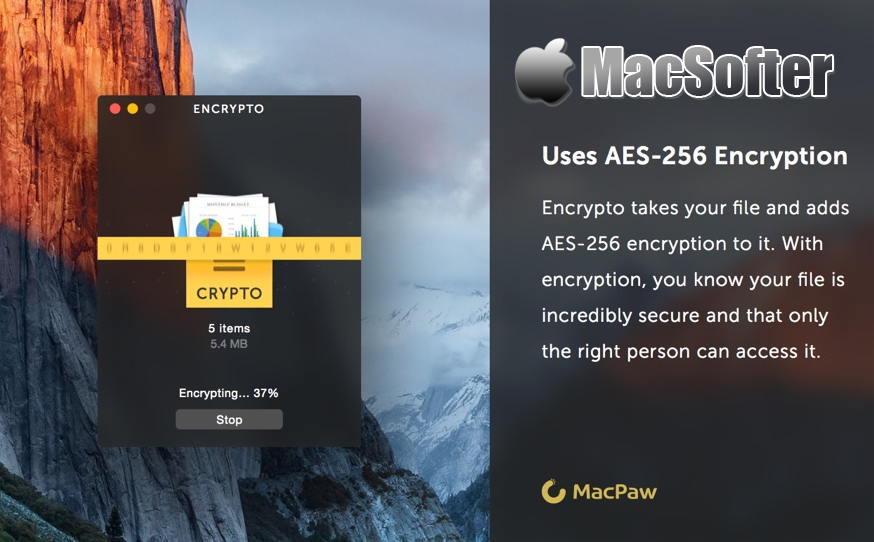 [Mac] Encrypto : 方便好用的文件加密软件 Mac办公软件 第1张