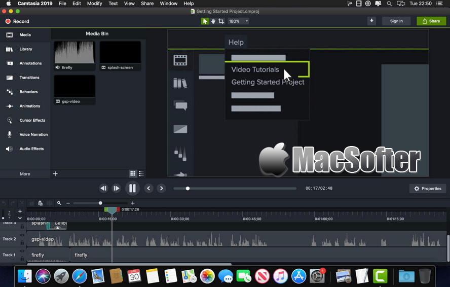 [Mac] Camtasia : 好用的屏幕录像软件 Mac视频处理 第1张