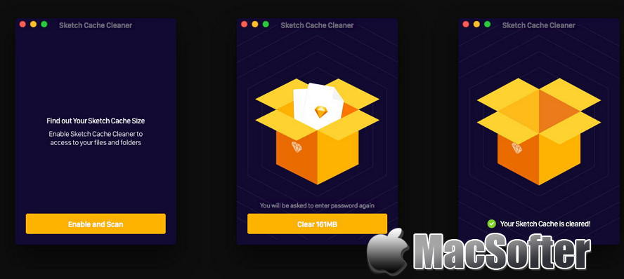 [Mac] Sketch Cache Cleaner : Sketch历史文件清理工具