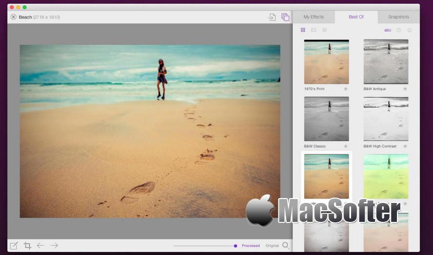 [Mac] Flare 2 : 照片滤镜特效处理软件