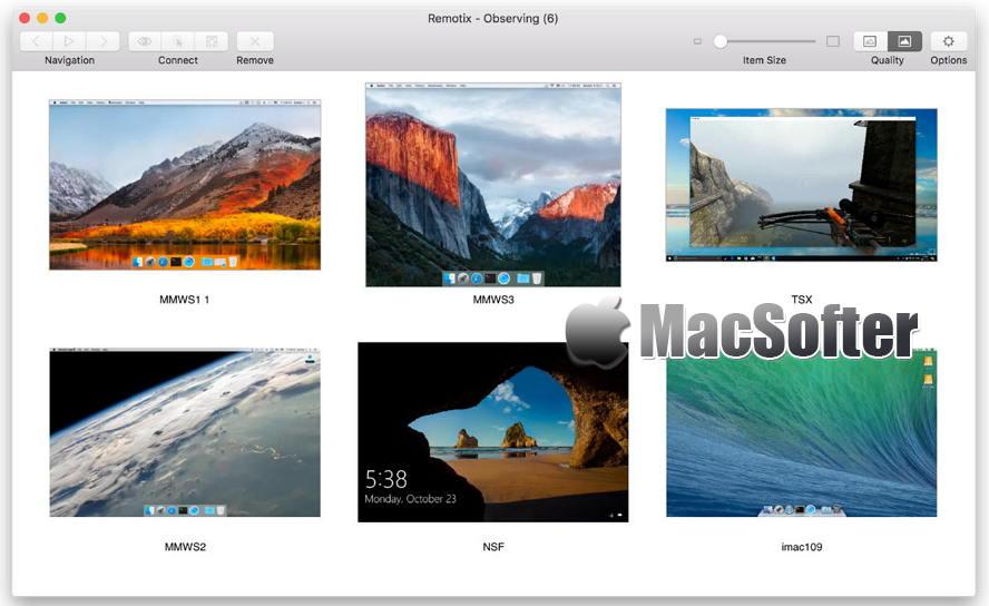 [Mac] Remotix : 好用的远程控制软件 Mac网络工具 第1张