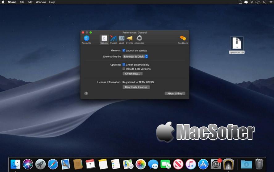 [Mac] Shimo : 好用的VPN客户端工具 Mac网络工具 第1张