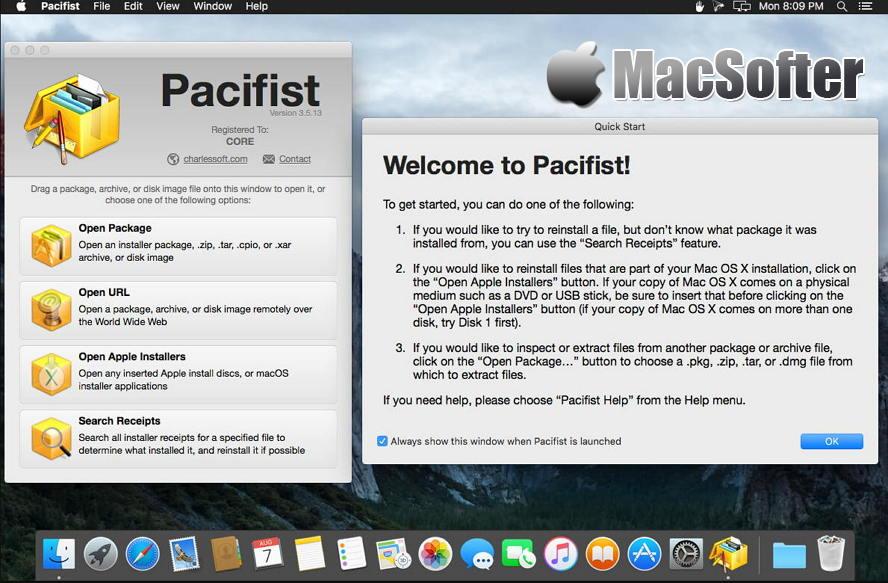 [Mac] Pacifist : 软件安装包提取工具 Mac开发工具 第1张