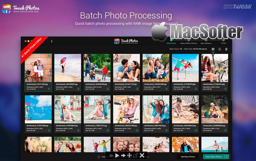 [Mac] Tweak Photos : 支持批量操作的修图软件 Mac图像图形 第1张