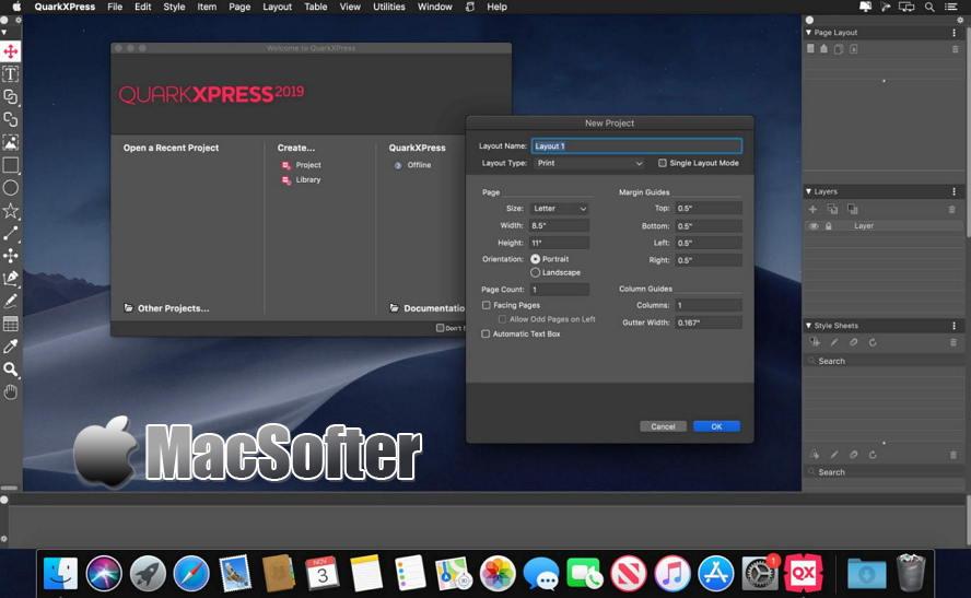 [Mac] QuarkXPress : 桌面出版设计排版软件