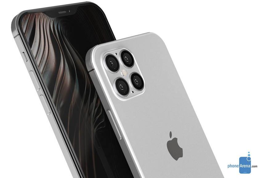 iPhone 12概念图 :外型全面大改造、四镜头和刘海更窄 苹果新闻 第1张