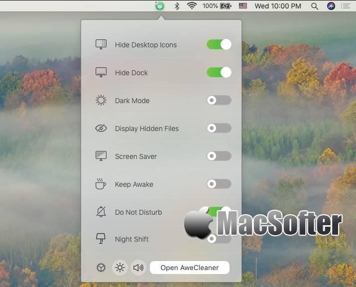 [Mac] AweCleaner Professional : 软件卸载垃圾清理工具 Mac系统优化 第1张