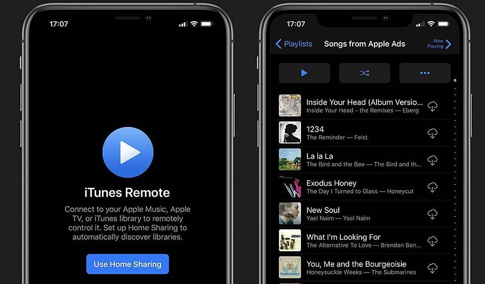 iTunes Remote支持Mac音乐和iOS 13深色模式 苹果新闻 第1张