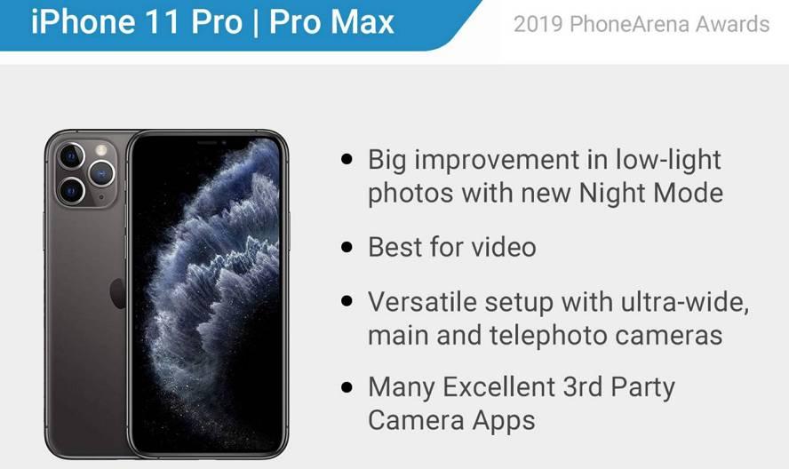 2019年最佳手机和最佳相机排行出炉:iPhone 11 Pro系列夺双冠王 苹果新闻 第1张