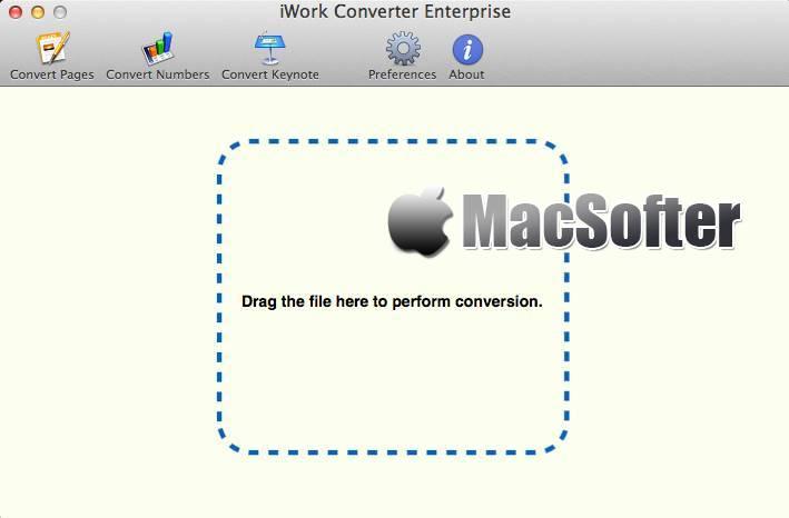 [Mac] iWork Converter : iWork文档格式转换工具 Mac办公软件 第1张