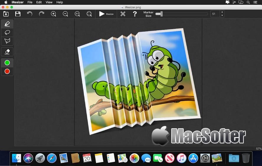 [Mac] Teorex iResizer : 照片无损缩放工具