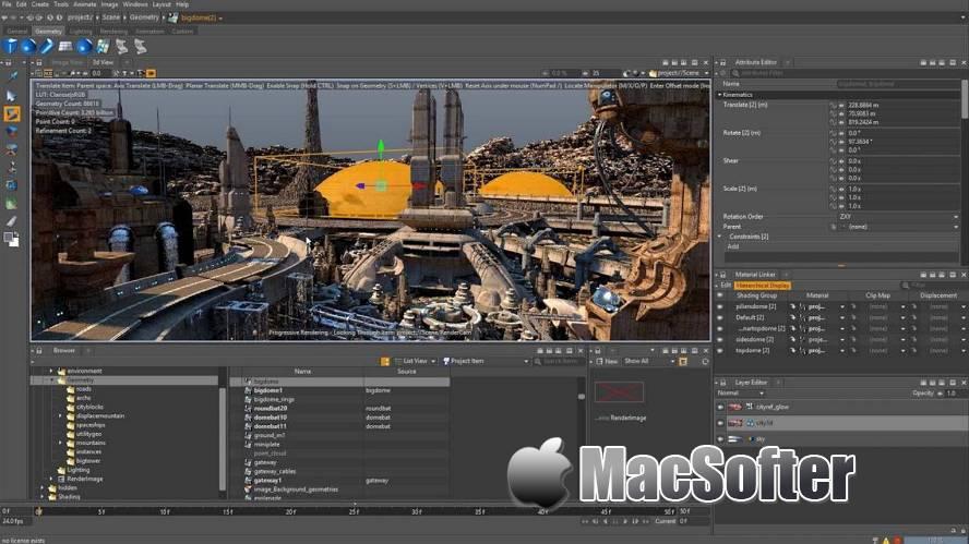 [Mac] Clarisse iFX :专业化动画渲染工具 Mac视频处理 第1张