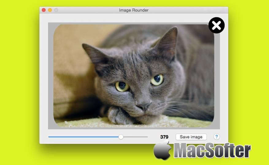 [Mac] Image Rounder : 图片添加圆角的软件