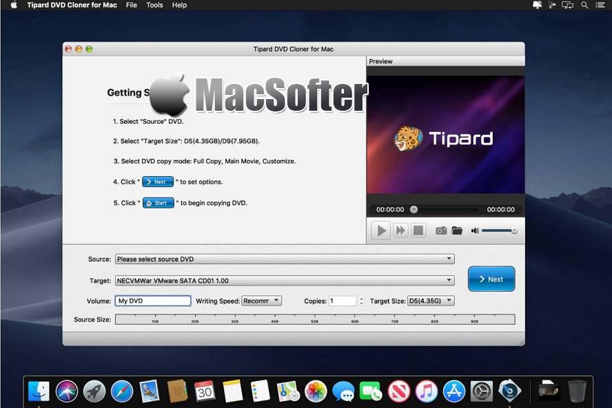 [Mac] Tipard DVD Cloner : DVD复制克隆工具 Mac视频处理 第1张