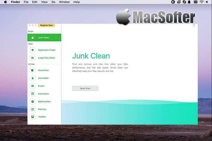 [Mac] TunesBro CleanGeeker : 强大的系统清理优化软件
