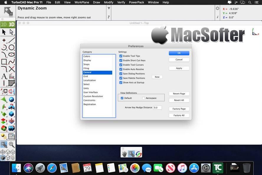 [Mac] TurboCAD Mac Pro : 好用的CAD绘图软件