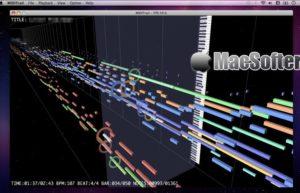 [Mac] MIDITrail : MIDI音乐可视化播放器