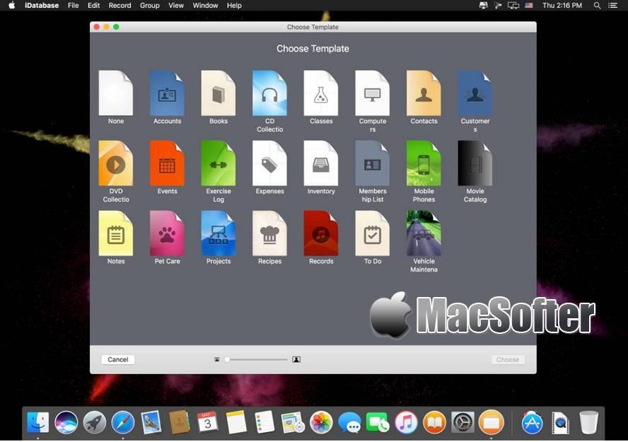 [Mac] iDatabase : 数据及文件管理工具 Mac办公软件 第1张