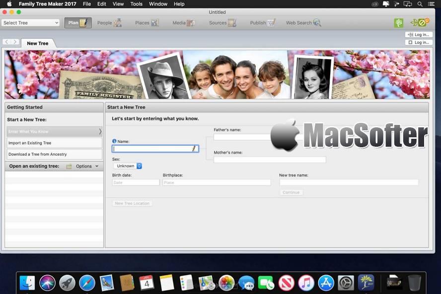 [Mac] Family Tree Maker : 好用的家谱族谱制作工具