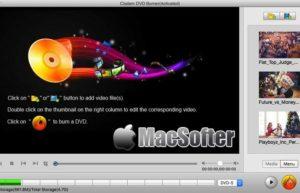 [Mac] Cisdem DVDBurner : DVD刻录软件