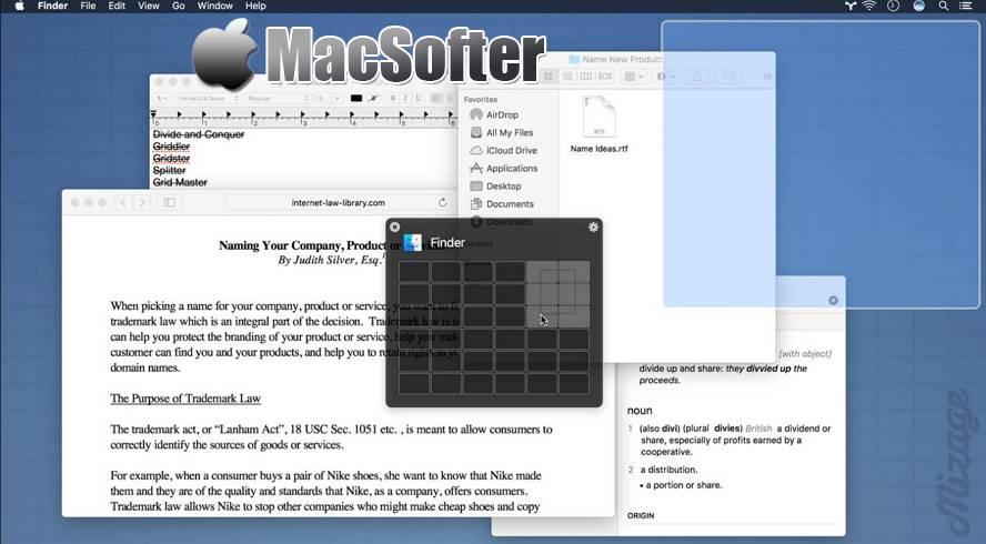 [Mac] Divvy : 强大高效的窗口管理器 Mac生产力工具 第1张