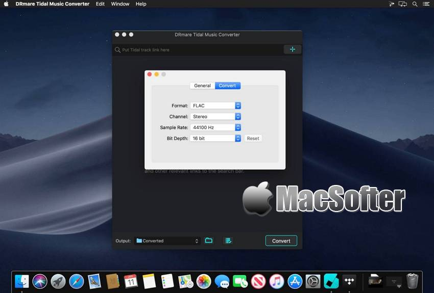[Mac] DRmare Tidal Music Converter : Tidal在线音乐下载及格式转换工具 Mac音乐播放 第1张